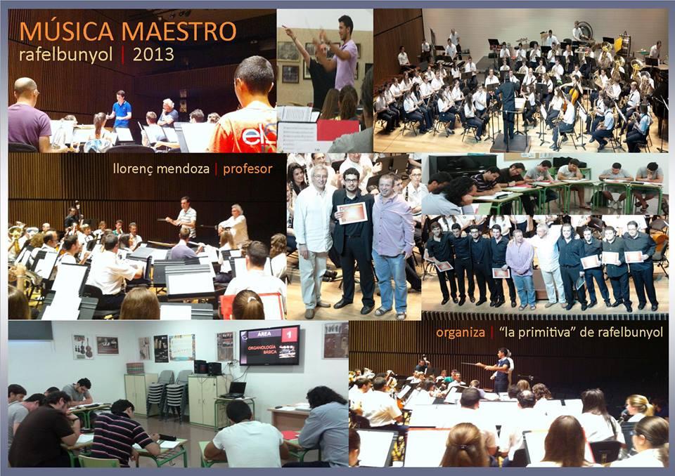 collage TALLER MUSICA MAESTRO - Llorenç Mendoza