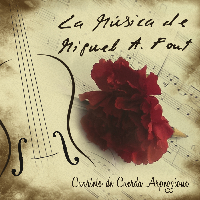 PORTADA DISCO la musica de MIGUEL ANGEL FONT