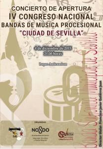 cartel concierto iv congreso bandas BSMS a la gloria
