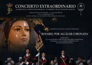 Estreno ROSARIO POR ALCAZAR CORONADA - Miguel Angel Font - am perdon
