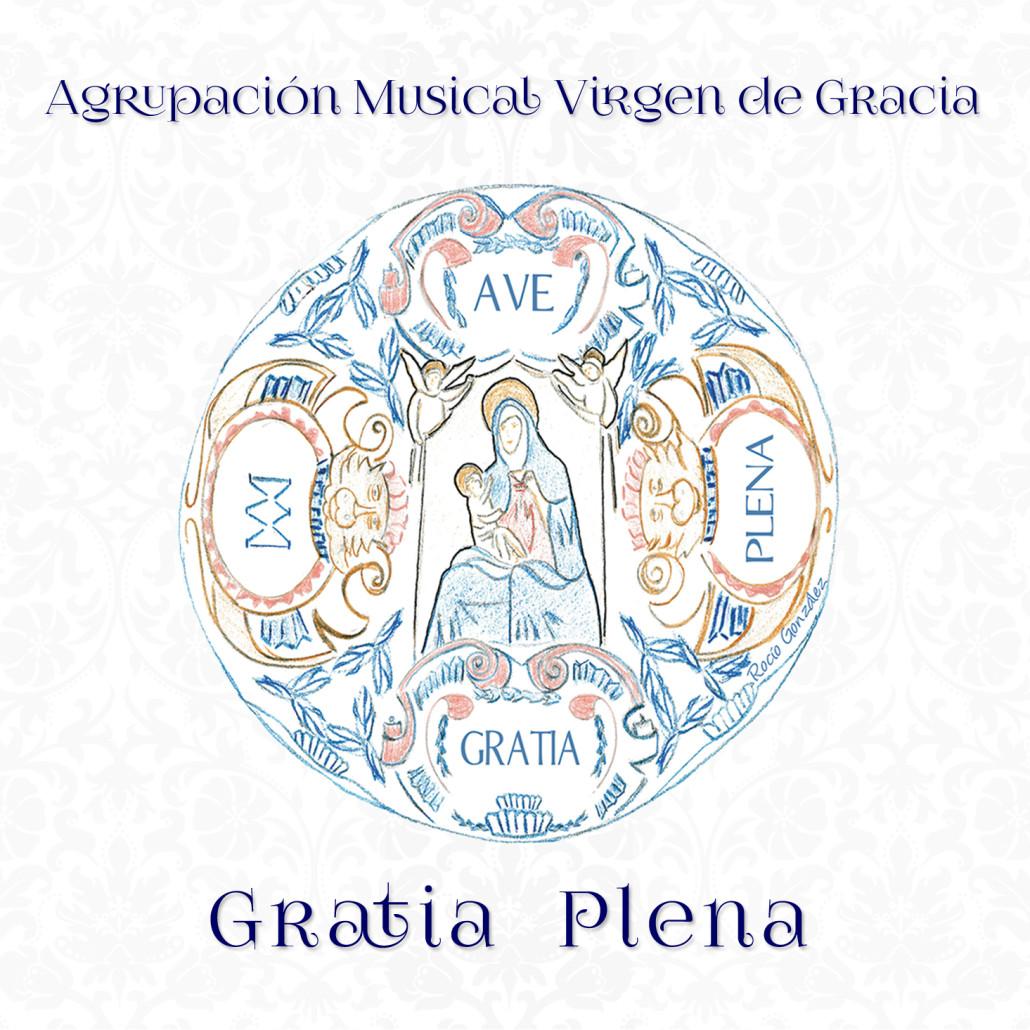 portada cd Gratia Plena producido por Miguel Angel Font