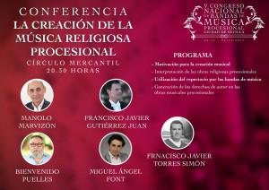 CONFERENCIA LA CREACION DE LA MUSICA RELIGIOSA