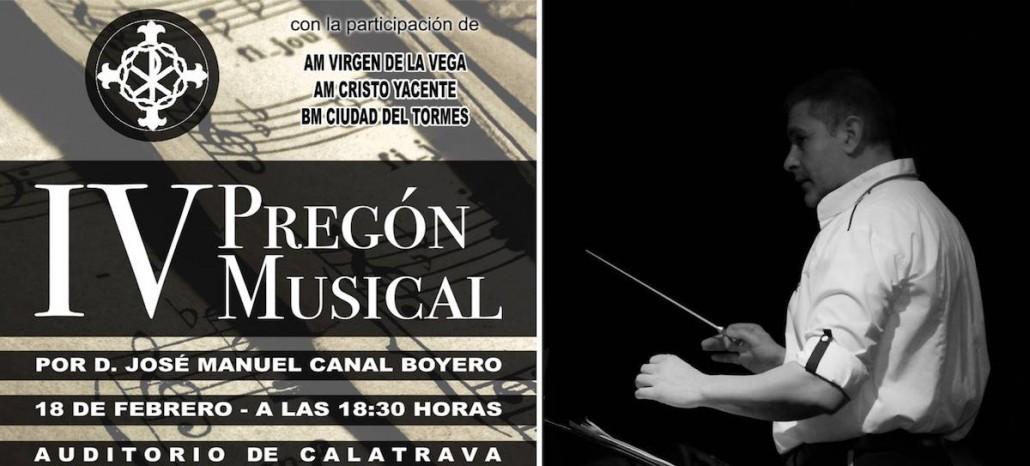 IV Pregon Musical canal Miguel angel font AM Virgen de la Vega salamanca