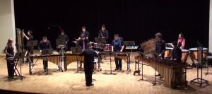 Ensemble percusión del  AMPV