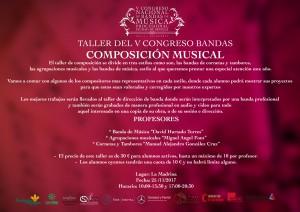 TALLERES DE COMPOSICION MUSICAL V CONGRESO DE BANDAS SEVILLA
